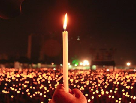 Overflowing emotions, boiling blood, candle march and prayers for martyrs!
