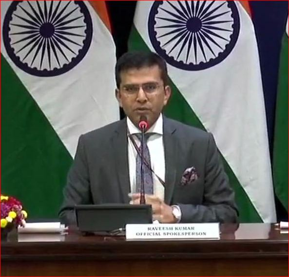 Press Conference by Ministry of External Affairs ( MEA) & IAF