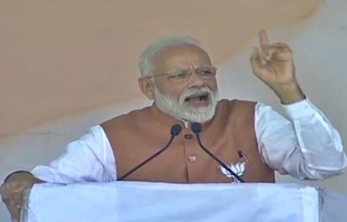 Intelligent Opposition confused between film's set and A-SAT – PM at Meerut Rally