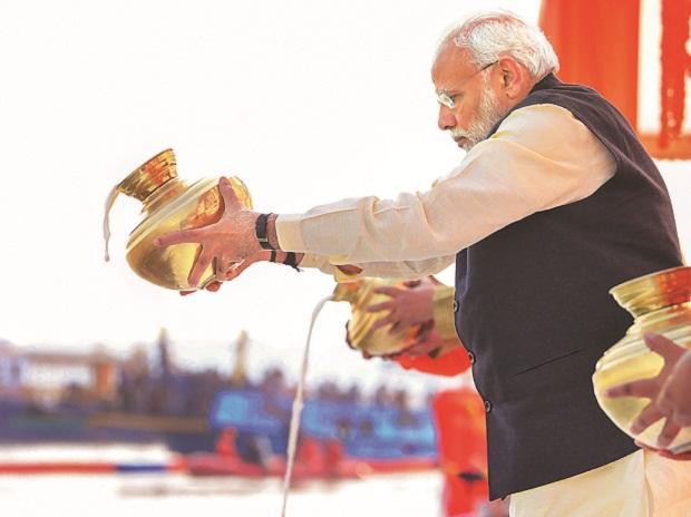 PMO: PM donates 21 lakh to Kumbh Mela sanitation workers