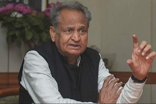 BJP seeks apology from Ashok Gehlot for remarks against President Kovind