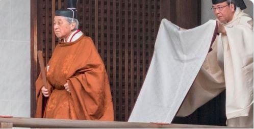 Japan emperor set for abdication ceremony