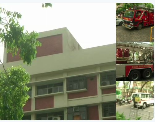 Massive fire broke out at Delhi's Shastri Bhavan, now doused
