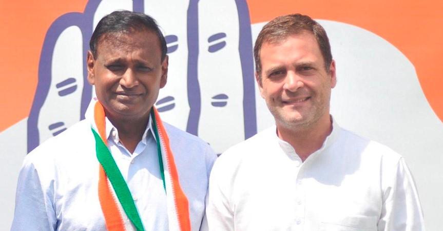 ટિકિટ ન મળતાં BJP સાથે છેડો ફાડી કોંગ્રેસમાં જોડાયા ઉદિત રાજ, ફરી નામમાંથી હટાવ્યું 'ચોકીદાર'