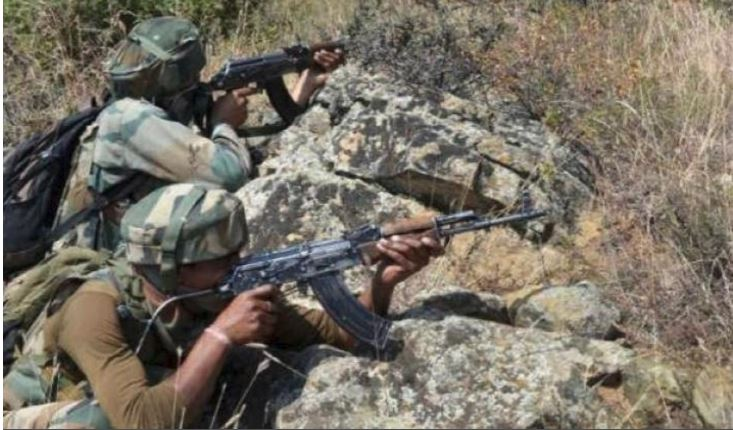 Pakistan violates ceasefire in the Poonch sector of J&K, Indian Army retaliates!