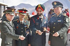 Ceremonial Border Personnel Meeting (BPM) held between the Indian Army and Chinese PLA