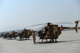 AFGHANISTAN-UNREST-AIRFORCE-ARMY-DEFENCE