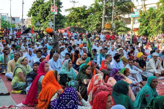 Karnal-protest
