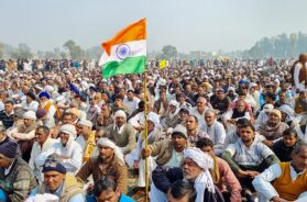 Kisan Mahapanchayat in Jind